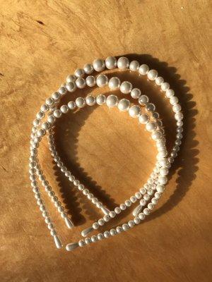 Perlen Haarreif Neu
