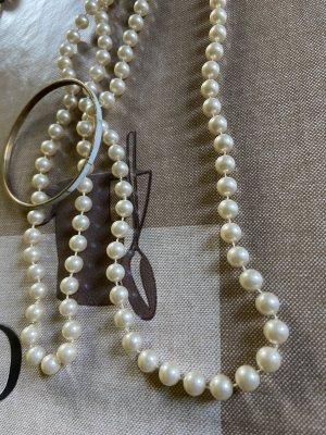 Collana bianco-crema