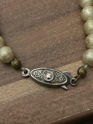 Perlen Halskette aus Nachlass Yves rocher