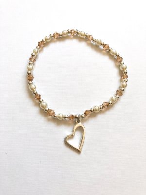 Perlen Herz Armband