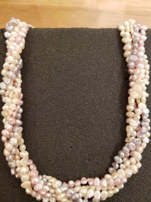 Italy Collana di perle multicolore