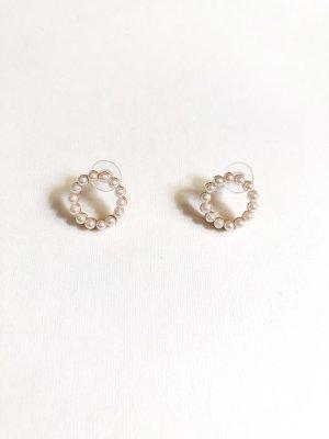 Perlen Kreis Ohrringe