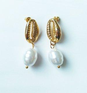 Pareloorbellen wit-goud