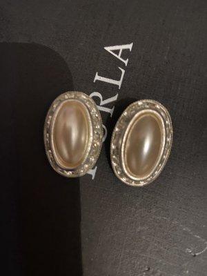Perlen Ohrklipse von Nachlass
