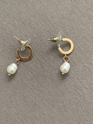 Mavi Pearl Earring white-gold-colored