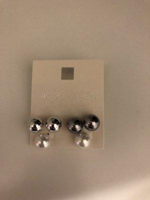 Accessorize Orecchino di perle multicolore