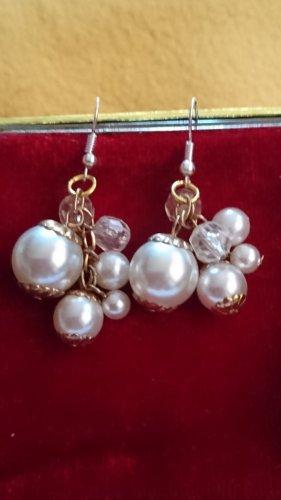 Perlen Ohrringe Ohrhacken