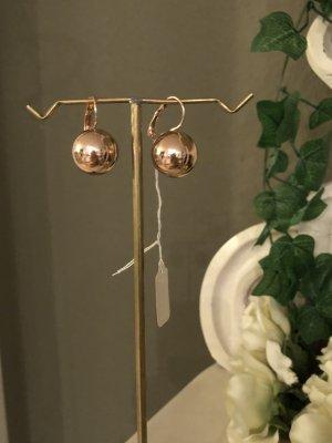 Perlen Ohrringe rosegold Ohrhänger