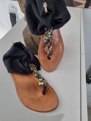 Perlen Sommer Zehen Sandale