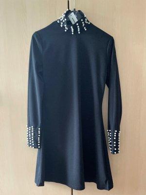 Perlen verziert Kleid   NEU