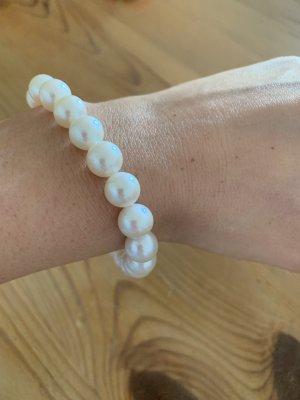Christ Bracelet en perles blanc