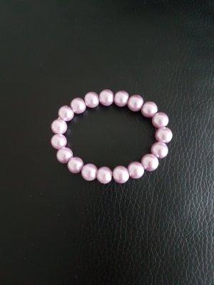 Bracciale di perle rosa