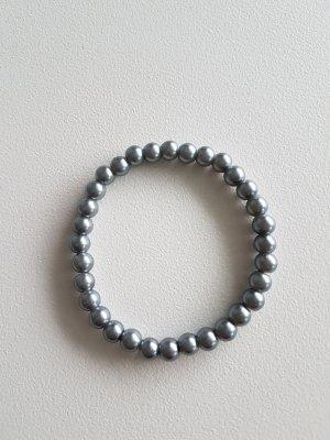 Bracciale di perle antracite