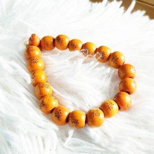 Pearl Bracelet orange