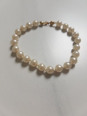 Pearl Bracelet white-gold-colored