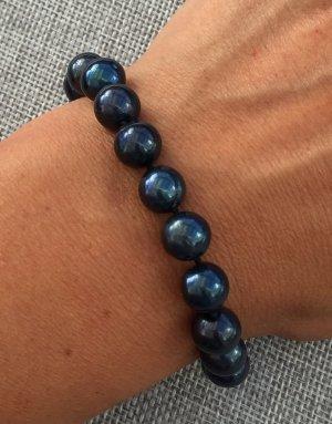 Pearl Bracelet dark blue