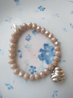 Lizas Bracciale di perle multicolore