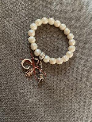 Thomas Sabo Pearl Bracelet silver-colored