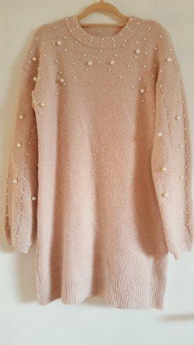 H.liesel Vestido de lana rosa mohair