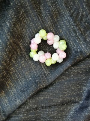 keine Ribbon green-pink