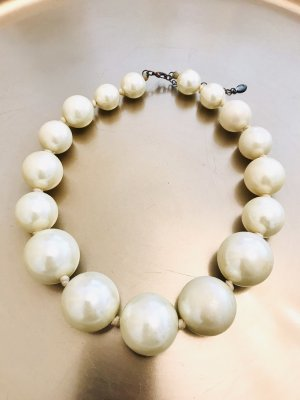 Accessorize Pearl Necklace cream
