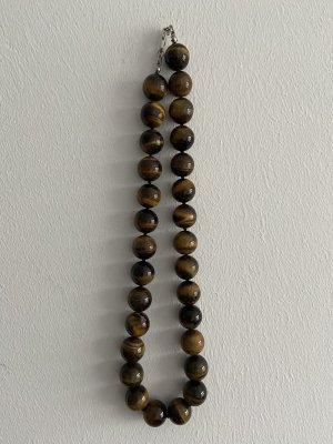 Perlenkette aus Tigerauge