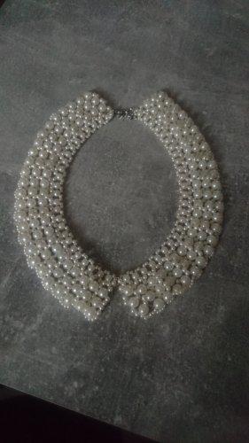 unbekannte Collier de perles blanc