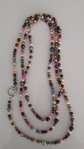 Perlenkette bunt und 200 cm lang