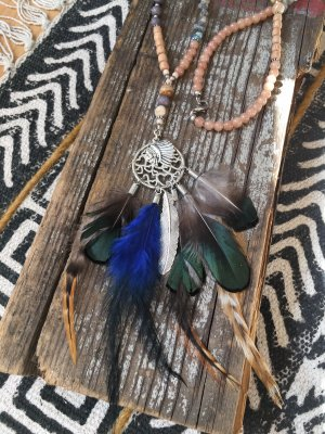 Perlenkette Dreamcatcher Indiana Love