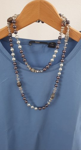 Anonyme Designers Pearl Necklace multicolored synthetic material