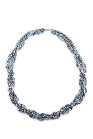 Perlenkette mehrfarbig Elegant