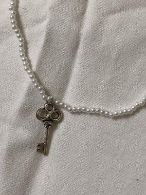 Perlenkette mit Schlüsselanhänger trendy cute
