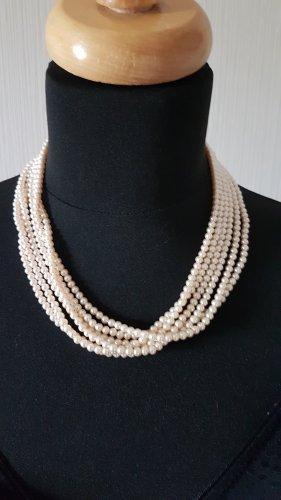 Pierre Lang Collier de perles blanc cassé