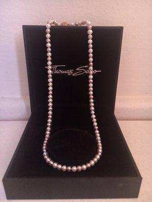Thomas Sabo Collier de perles rosé-blanc