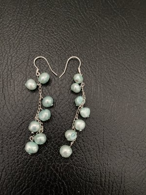 Pearl Earring turquoise