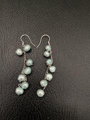 Boucles d'oreilles en perles turquoise