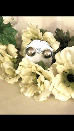 Pareloorbellen zilver