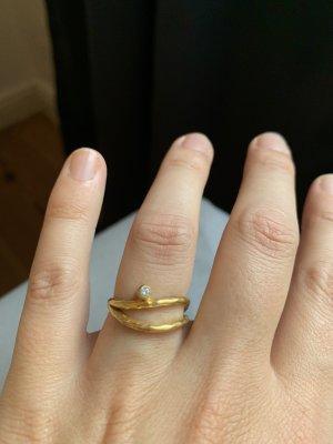Pernille Corydon Gold Ring multicolored