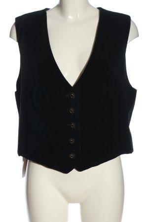 Perry Landhaus Kamizelka garniturowa czarny W stylu casual