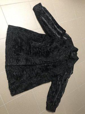 Persianerjacke schwarz