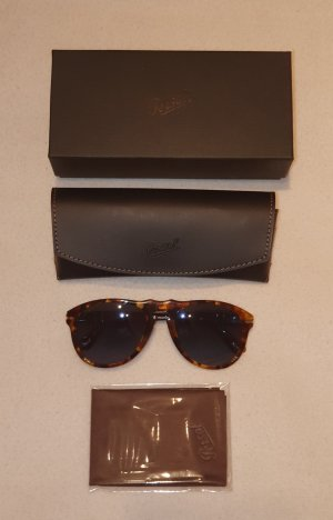 Persol Retro Glasses brown acetate