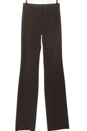 Personal Affairs Pantalon à pinces brun style décontracté