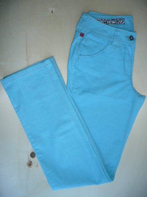 Personal Affairs Eyecatcher Hose 5 Pocket Pants Türkis Gr 38