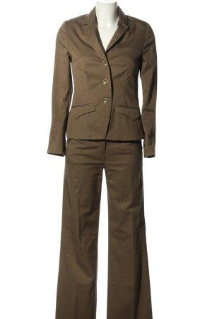 Personal Affairs Tailleur-pantalon brun style d'affaires