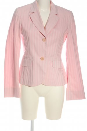 Personal Affairs Korte blazer roze-wolwit gestreept patroon zakelijke stijl