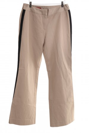 Personal Affairs Pantalone jersey color carne-nero stile casual