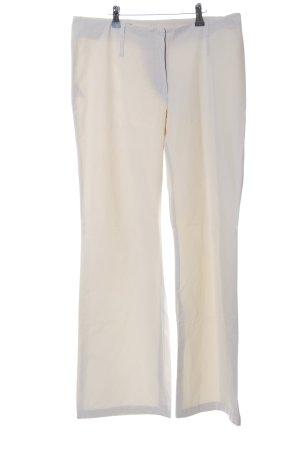 Personal Affairs Pantalone jersey bianco sporco stile casual