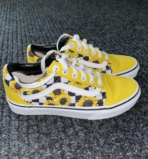 Personalisierte Sonnenblumen Vans
