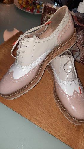 Pertini Budapest schoenen roségoud-licht beige