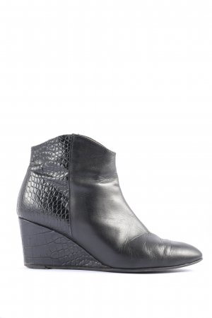 Pertini Booties schwarz Casual-Look
